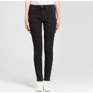 NEW! Mossimo Jeans High-Rise BLACK Jeggings - LONG